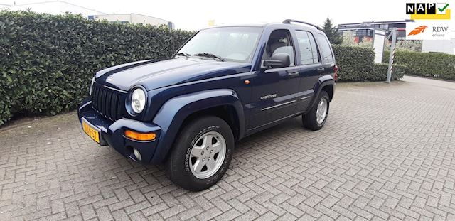 Jeep Cherokee 3.7i V6 Sport Plus 211pk Automaat 153000km NAP Airco Leder Stoelverwarming Youngtimer