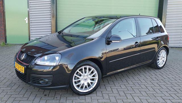 Volkswagen Golf 1.4 TSI GT 125KW 5D 2007 Zwart NAVI*NAP*APK