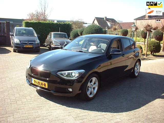 BMW 1-serie 116i EDE Business+ nl auto leer naviegatie pdc
