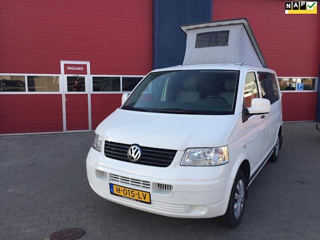 Volkswagen Transporter 2.5 TDI 300 MHD 5 CILLINDER DIESEL 130 PK 6 BAK AIRCO BUSCAMPER 5 PERSOONS