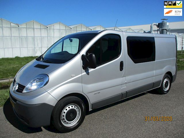 Renault Trafic 2.0 dCi T29 L2H1 DC Eco Lang Dubbel Cabine met Airco