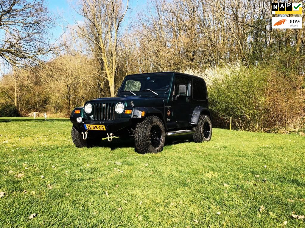 Jeep Wrangler occasion - Pascal Traa