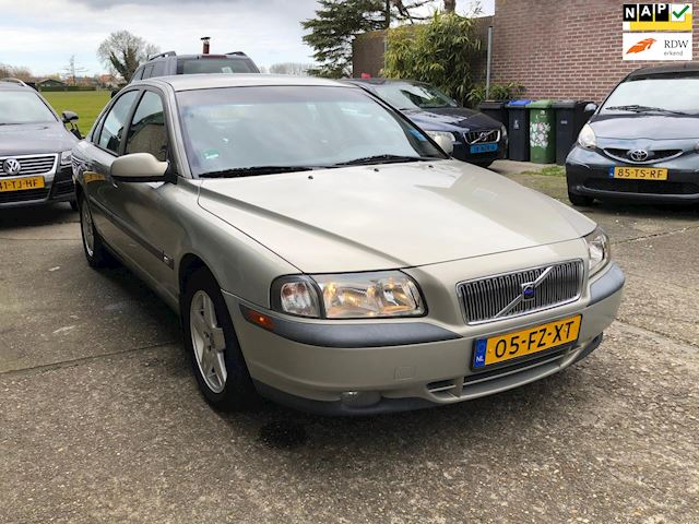 Volvo S80 2.4 Comfort Automaat, Airco, rijdt perfect