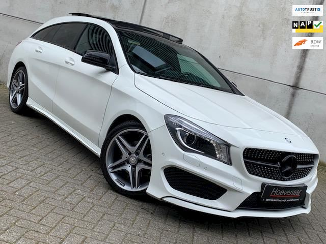 Mercedes-Benz CLA-klasse Shooting Brake 180 AMG NIGHT PAK PANODAK GARANTIE NIEUWSTAAT