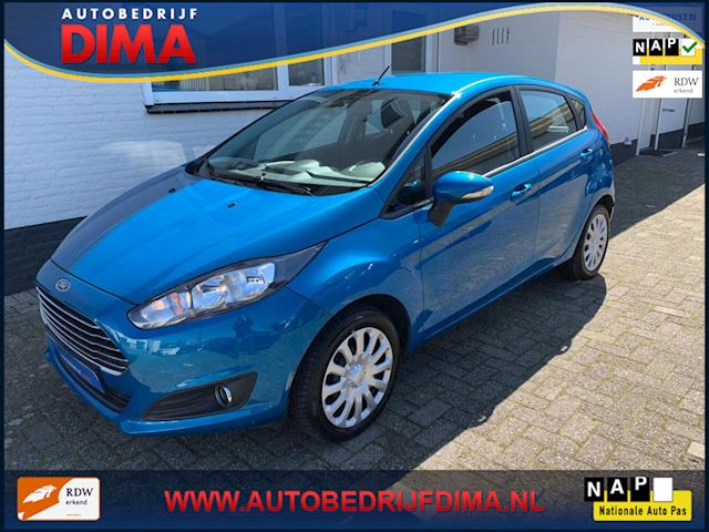 Ford Fiesta 1.0 EcoBoost Candy Blue Edition / Airco/ Stoelverwarming/ PDC/ 5 Drs
