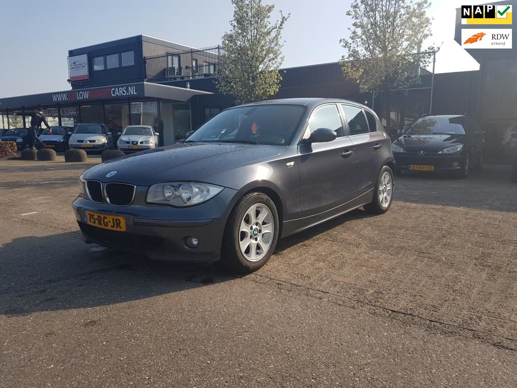 BMW 1-serie occasion - Low Budget Cars