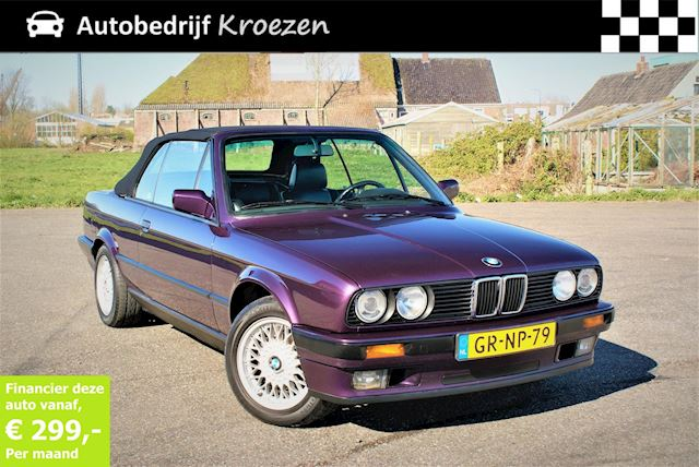 BMW 3-serie Cabrio 318i * Color Edition * Org NL auto *