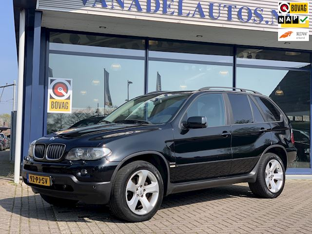 BMW X5 3.0d High Executive NL-Auto NAP Leer Navi Parksens Dealeronderhouden!
