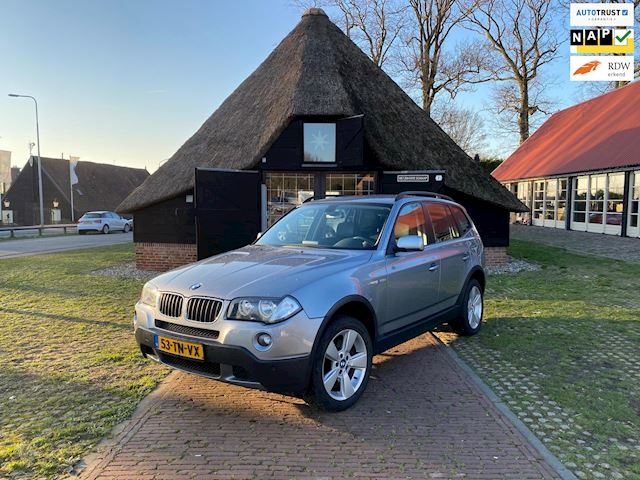 BMW X3 2.0i Introduction facelift 2007 in nieuwstaat! NAP!!