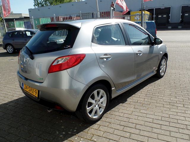 Mazda 2 1.3 BIFUEL GT-M Line airco niet in GEROOKT