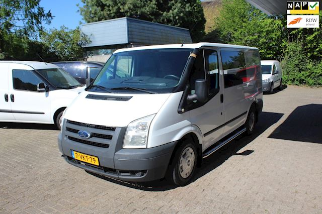 Ford Transit 260S 2.2 TDCI Business Edition DUBBEL CABINE AIRCO MARGE BUS GEEN BTW !!!!!!!!!!!!!!