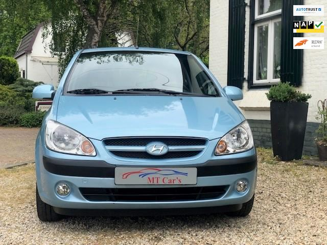 Hyundai Getz occasion - M.T.  Car's & Carcleaningcenter