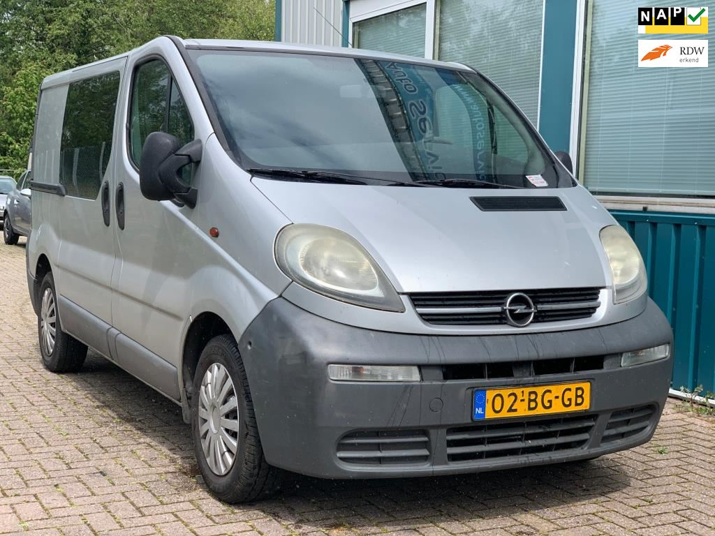 Opel Vivaro occasion - Auto Service Boss