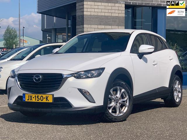 Mazda CX-3 1.5 SkyActiv-D 105 SkyLease+ FULL-MAP NAVI ECC LMV PDC VERWARMDE ZETELS MULTI-STUUR CRUISE