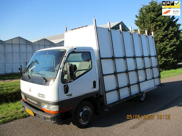 Mitsubishi Canter FB35 3.0 295 City Cab Glasresteel / Glaswagen