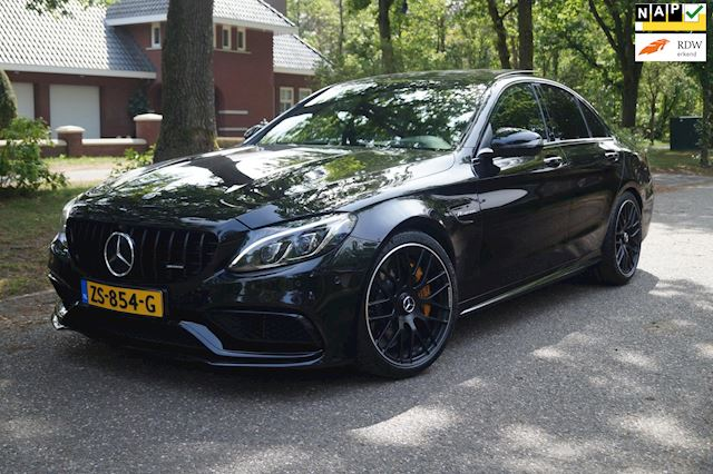 Mercedes-Benz C-klasse 63 AMG S Edition 1 510PK Pano Keramik Distr Full Options
