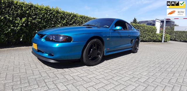 Ford USA Mustang 5.0 V8 260pk Automaat Sportuitlaat NAP Airco Youngtimer Topstaat!!