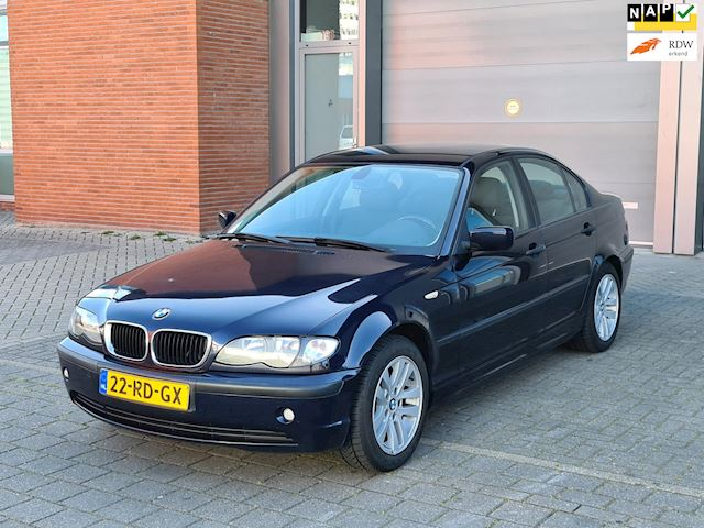 BMW 3-serie 316i Black&Silver II ?LPG ?rijd perfect ?AIRCO