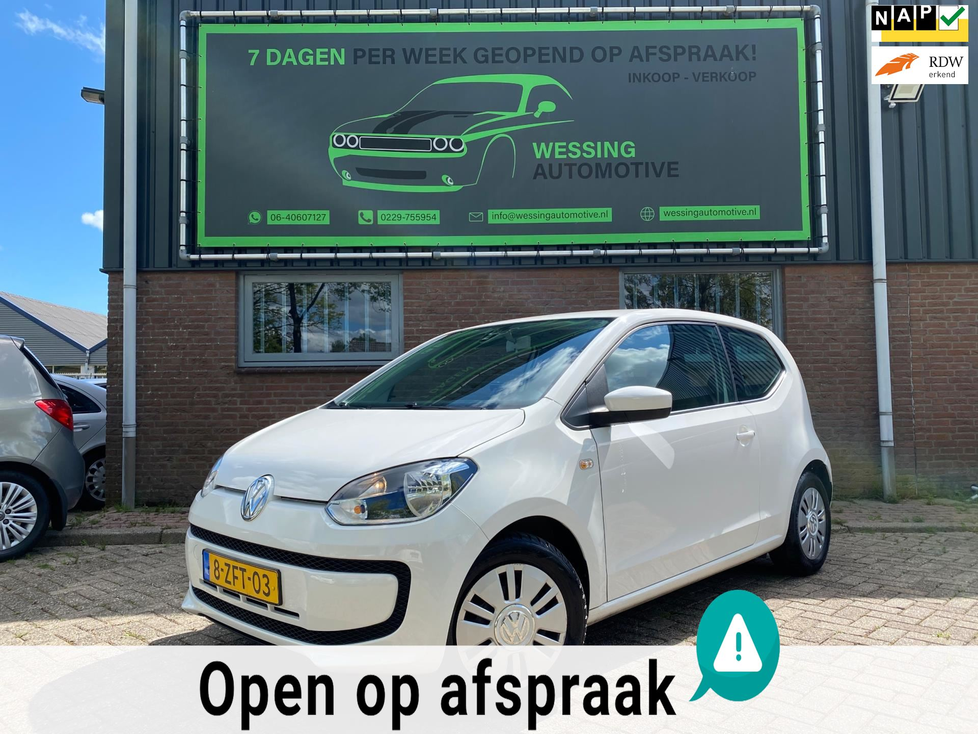 Volkswagen Up occasion - Wessing Automotive