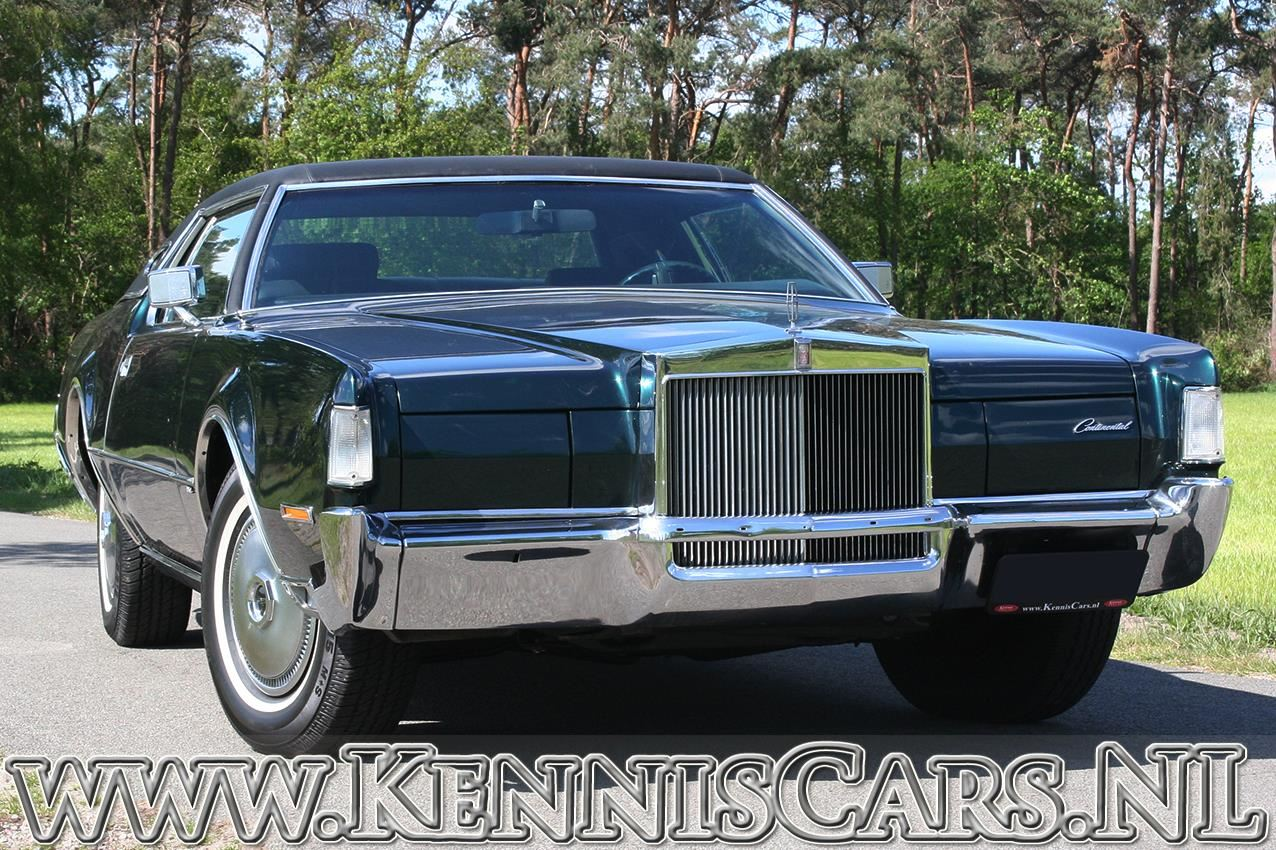 Lincoln 1972 Continental Mark IV Coupe occasion - KennisCars.nl