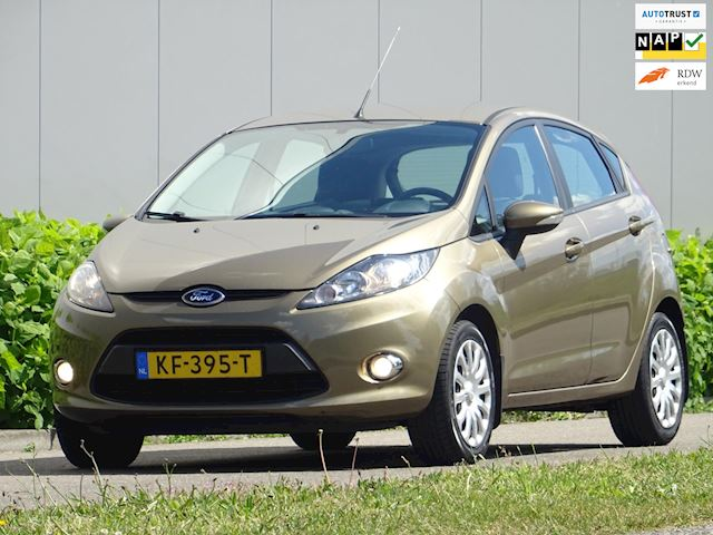 Ford Fiesta 1.25 Titanuim Limeted _@ Stoelverw. Airco 5-Drs