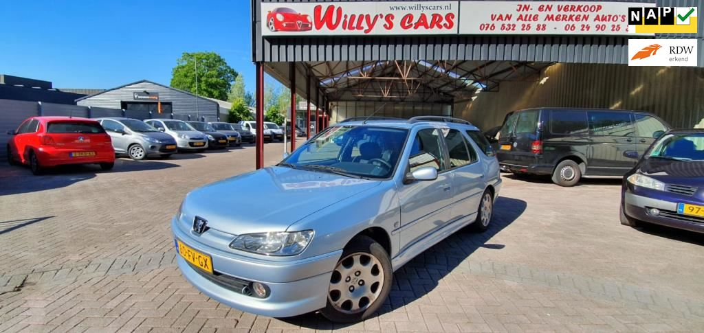 Peugeot 306 Break occasion - Autobedrijf Willy's
