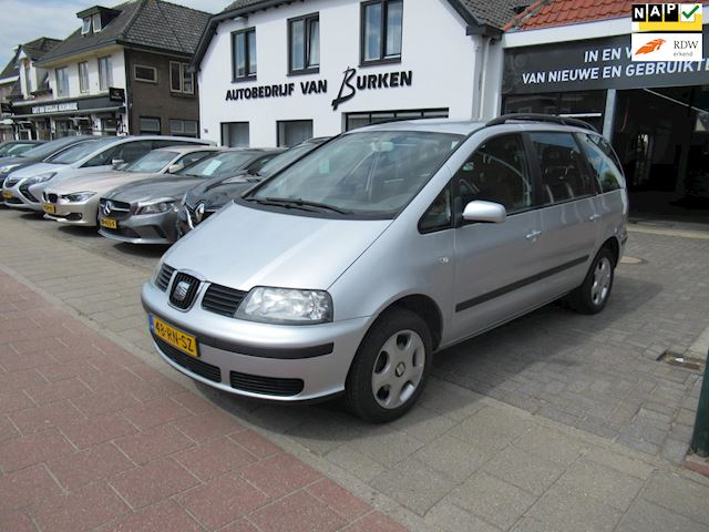 Seat Alhambra 2.0 Reference 7 persoons,L.M.Velgen,Climate control,Cruise control,Trekhaak