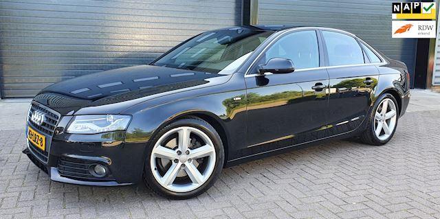 Audi A4 1.8 TFSI S-LINE 88KW 2010 Zwart XENON*NAP*1E EIG.