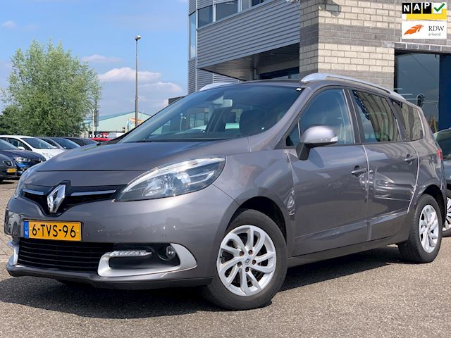 Renault Grand Scénic 1.5 dCi Expression FULL MAP NAVI ECC LMV PDC CHROOM RAIL TREKHAAK CRUISE-CONTROLE MULTI-STUUR