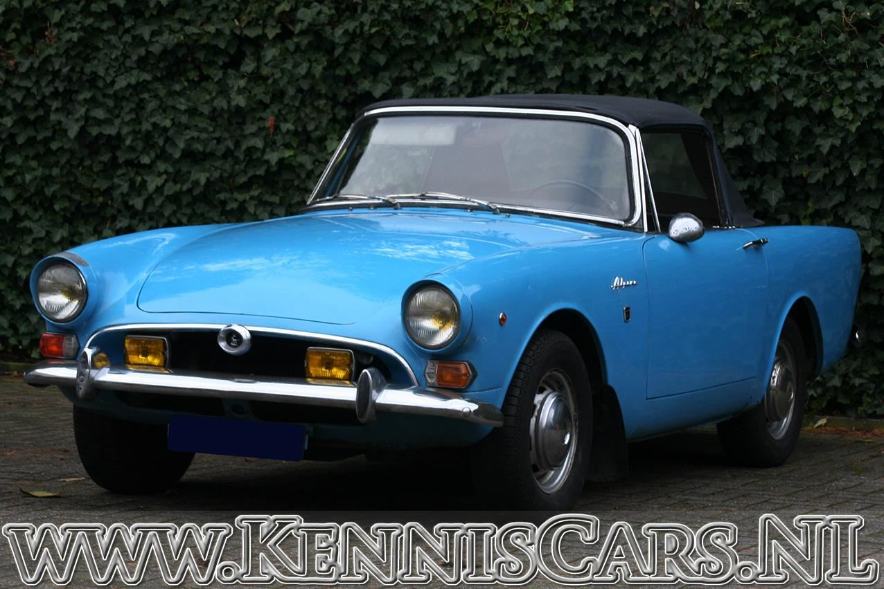 Sunbeam 1966 Alpine Convertible occasion - KennisCars.nl