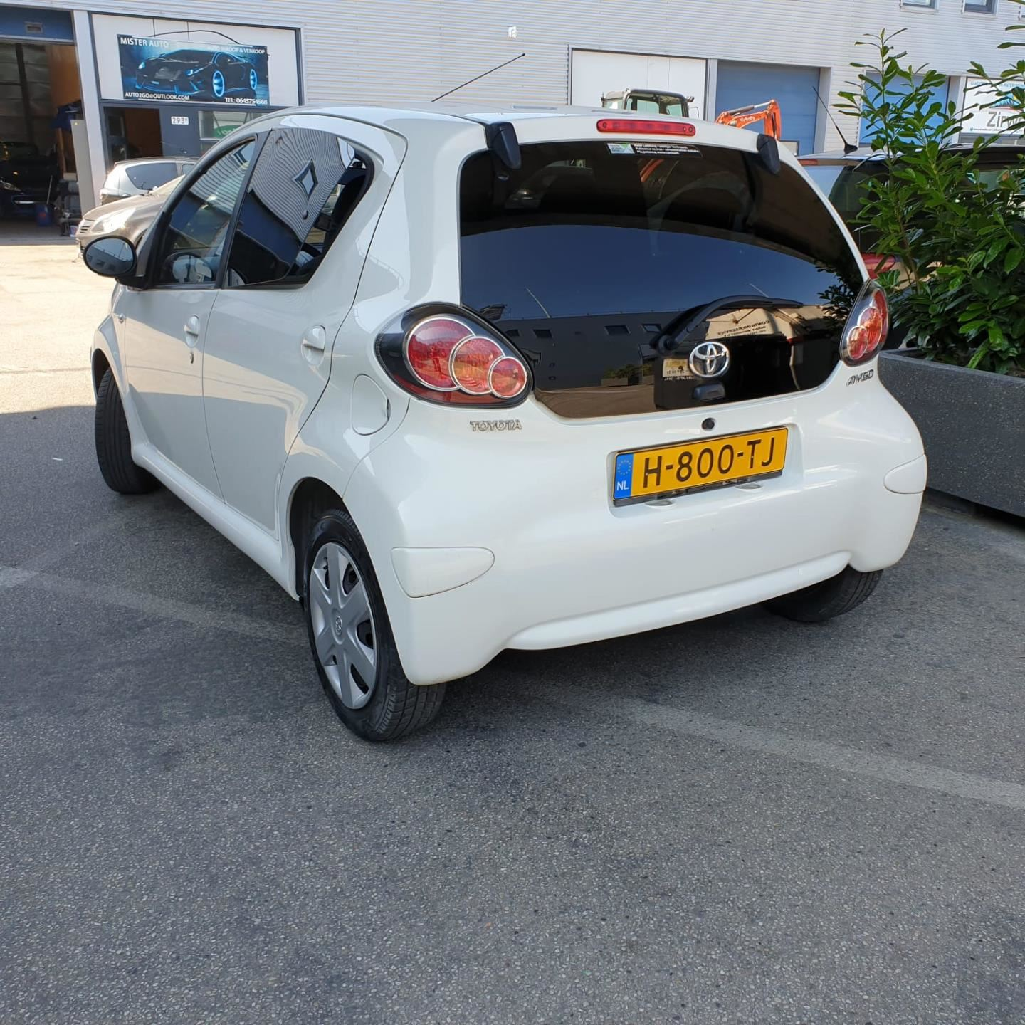 Toyota Aygo occasion - Mister Car