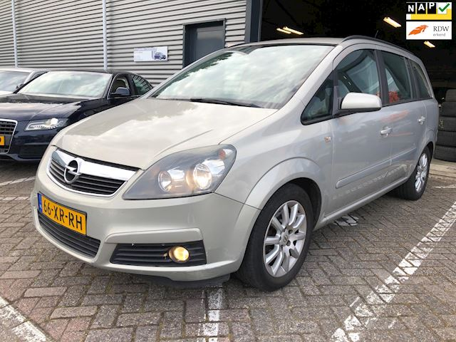 Opel Zafira 1.8 Temptation Lpg g3 7-persoons climate controle cruise controle lm-velgen electrische pakket trekhaak nw apk