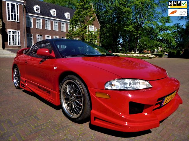 Mitsubishi Eclipse 2.0-16V GS 1998 SHOWCAR BODYKIT TOPSTAAT