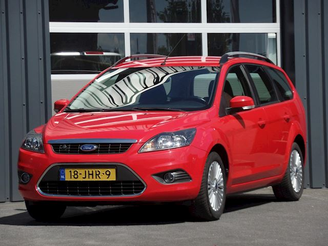 Ford Focus Wagon 1.8 Titanium Flexi Fuel Navigatie Climatecontrol Cruisecontrol Stoelverwarming