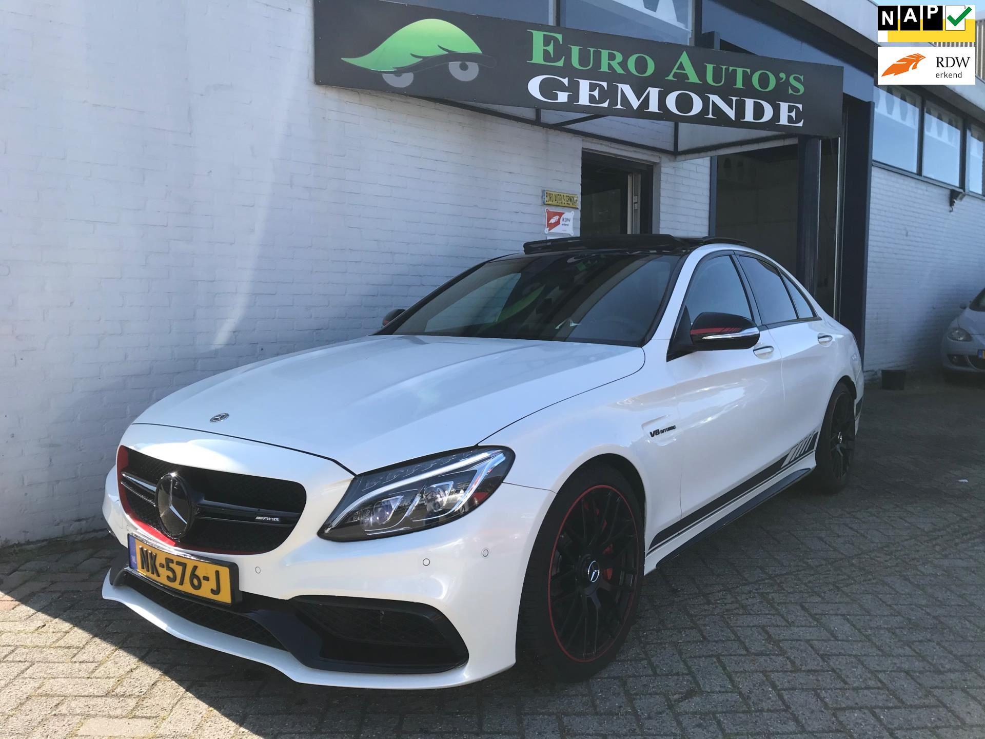 Mercedes-Benz C63s occasion - Euro Auto's Gemonde