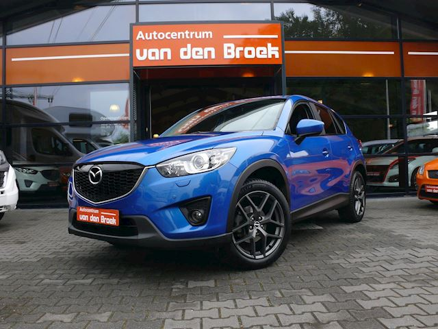 Mazda CX-5 2.0 GT-M 4WD Automaat Xenon Navi Leder Camera Climate Cruise Ctr Stoelverwarming Keyless Go