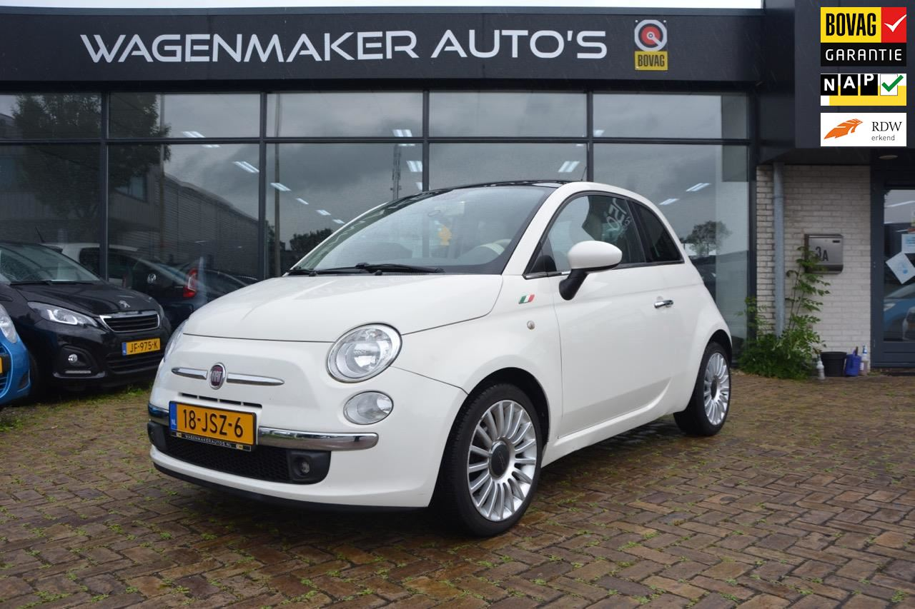 Fiat 500 occasion - Wagenmaker Auto's