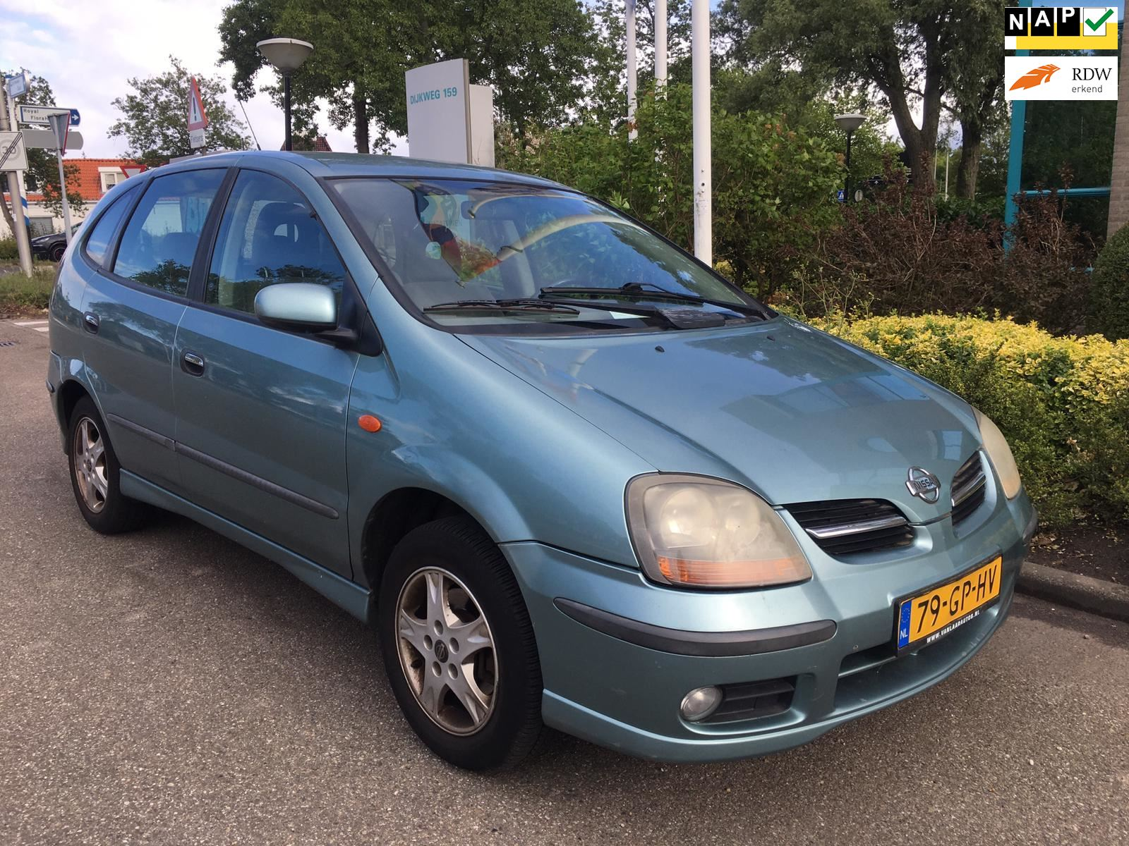 Nissan Almera Tino occasion - Honsel Occasions B.V.