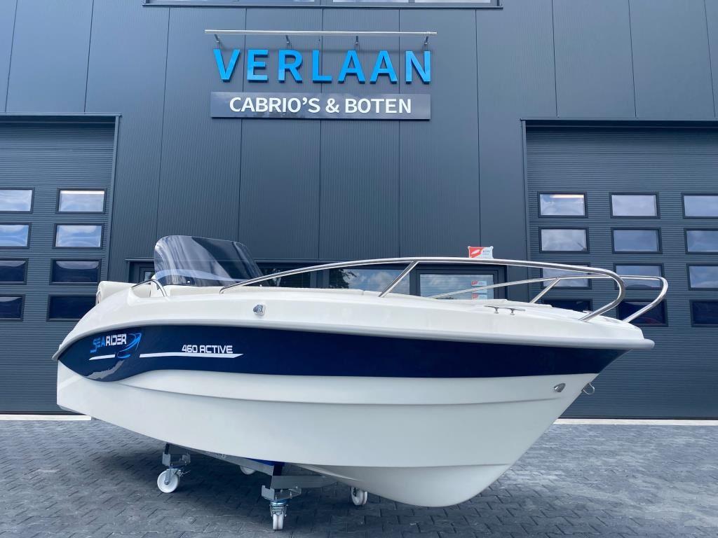SeaRider 460 Active/Nieuw/Direct leverbaar/ Eventueel met nieuwe motor occasion - Verlaan Cabrio's en Boten