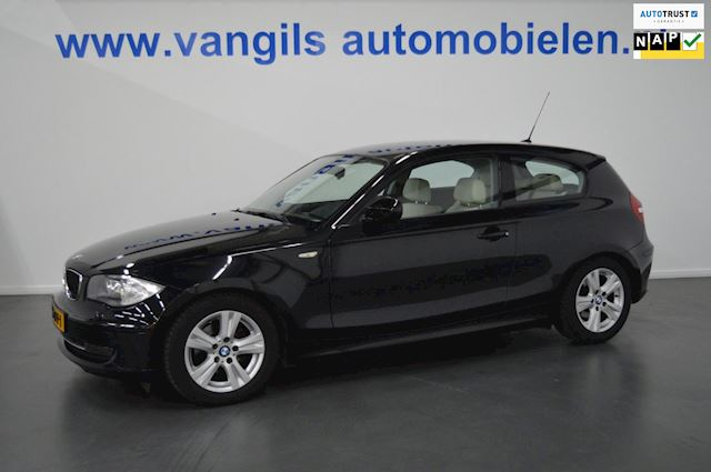 BMW 1-serie 116i EffDyn. Ed. Business Line Ultimate Edition Leer, navigatie, xenon