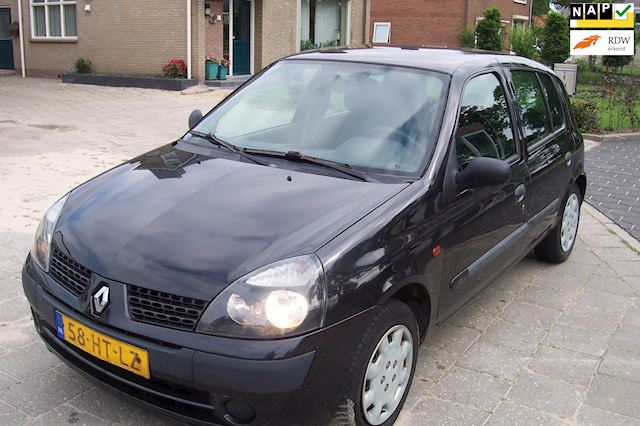 Renault Clio 1.2-16V Authentique 5 drs Zwart