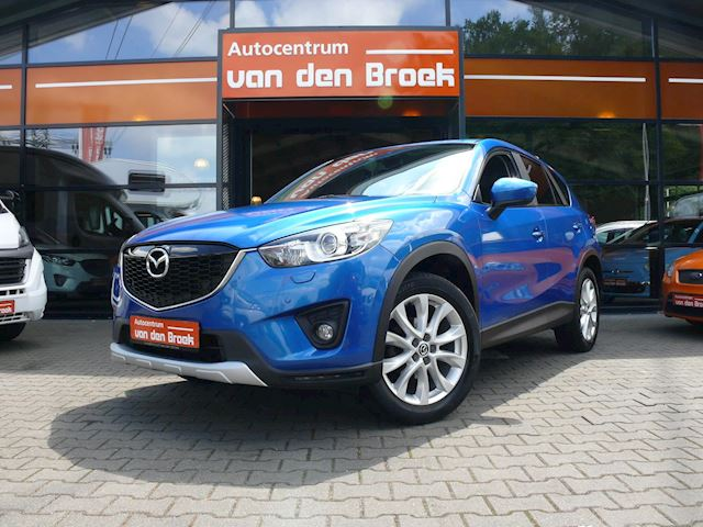 Mazda CX-5 2.0 GT-M 4WD Automaat Navi Leder Xenon Camera Climate Cruise Ctr Stoelverwarming