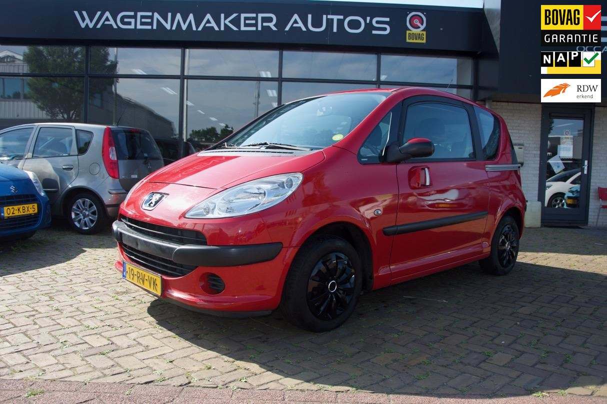Peugeot 1007 occasion - Wagenmaker Auto's