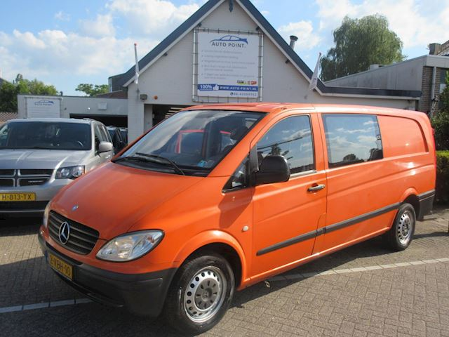 Mercedes-Benz Vito 111 CDI 343 DC luxe lang/dubbel cabine/airco/marge no tax/navigation