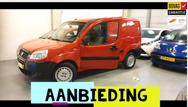 Fiat DOBLO /Benzine/Nw APK/Elek Pakket/Garantie