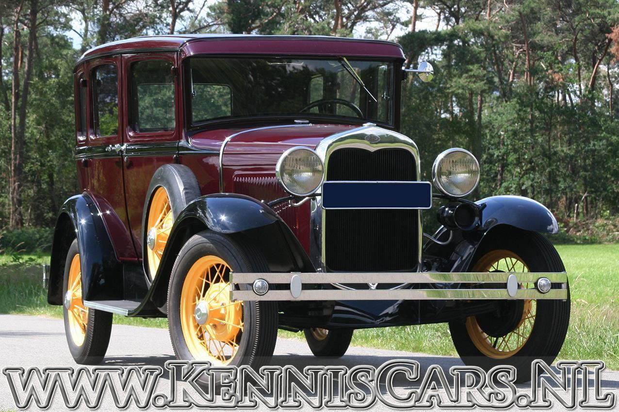 Ford 1930 Model A Seven Window Sedan occasion - KennisCars.nl