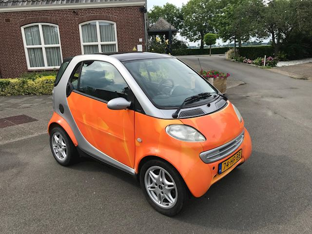 Smart City-coupé smart & pure AUTOMAAT