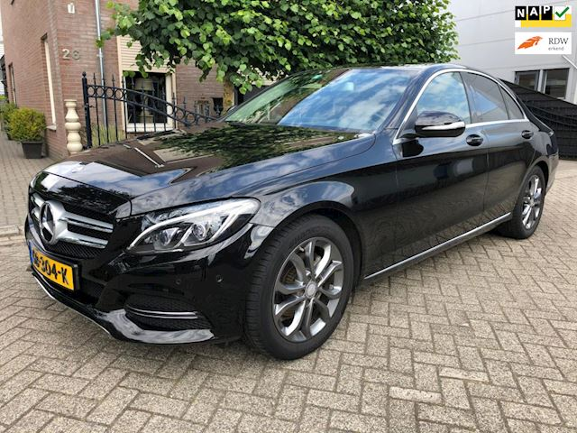 Mercedes-Benz C-klasse 180 CDI Lease Edition led sportstoelen