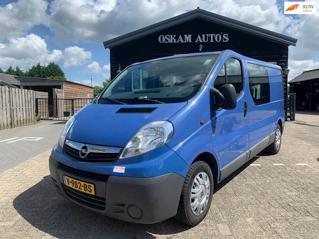 Opel Vivaro 2.5 CDTI L2H1 DC Marge Bus, 6-persoons!
