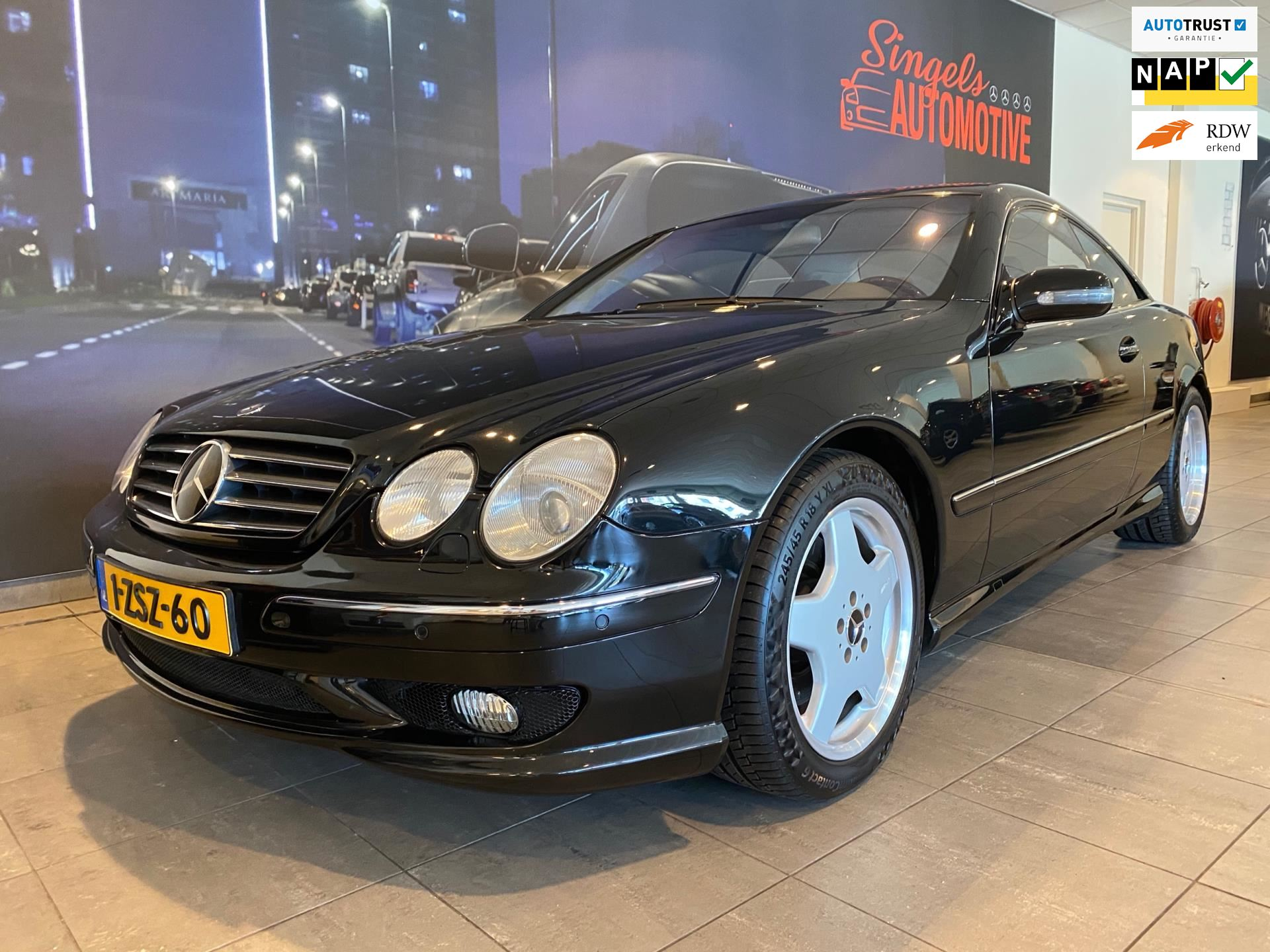 Mercedes-Benz CL-klasse occasion - SINGELS AUTOMOTIVE